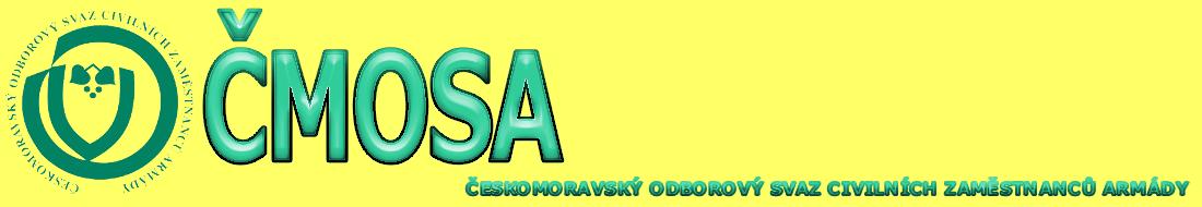 Logo for ČMOSA